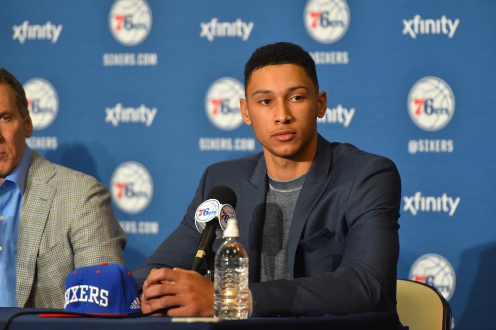 2016 Philadelphia 76ers NBA Draft Picks Press Conference