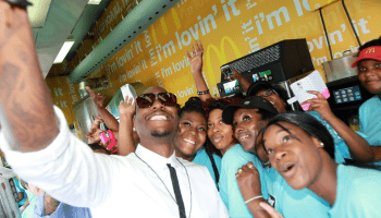 Tyrese at McDonald's Bounce Brunch in New Orleans on July 2, 2016