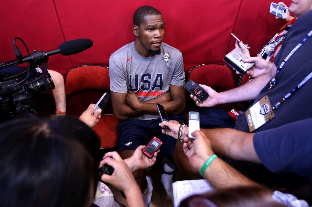USA Basketball Men's National Team Practice