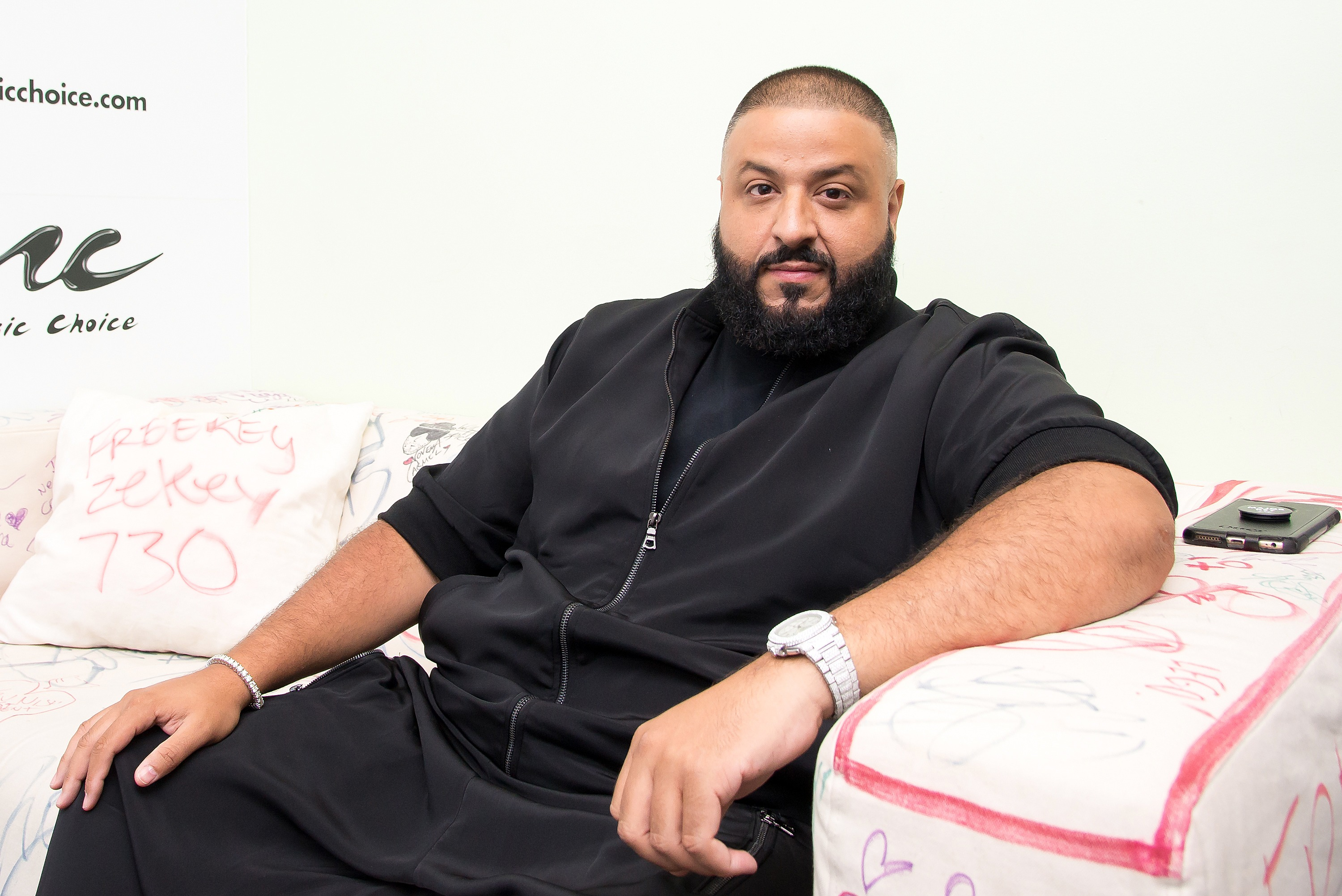 DJ Khaled poses as Lyft driver, unsurprisingly does not fool people