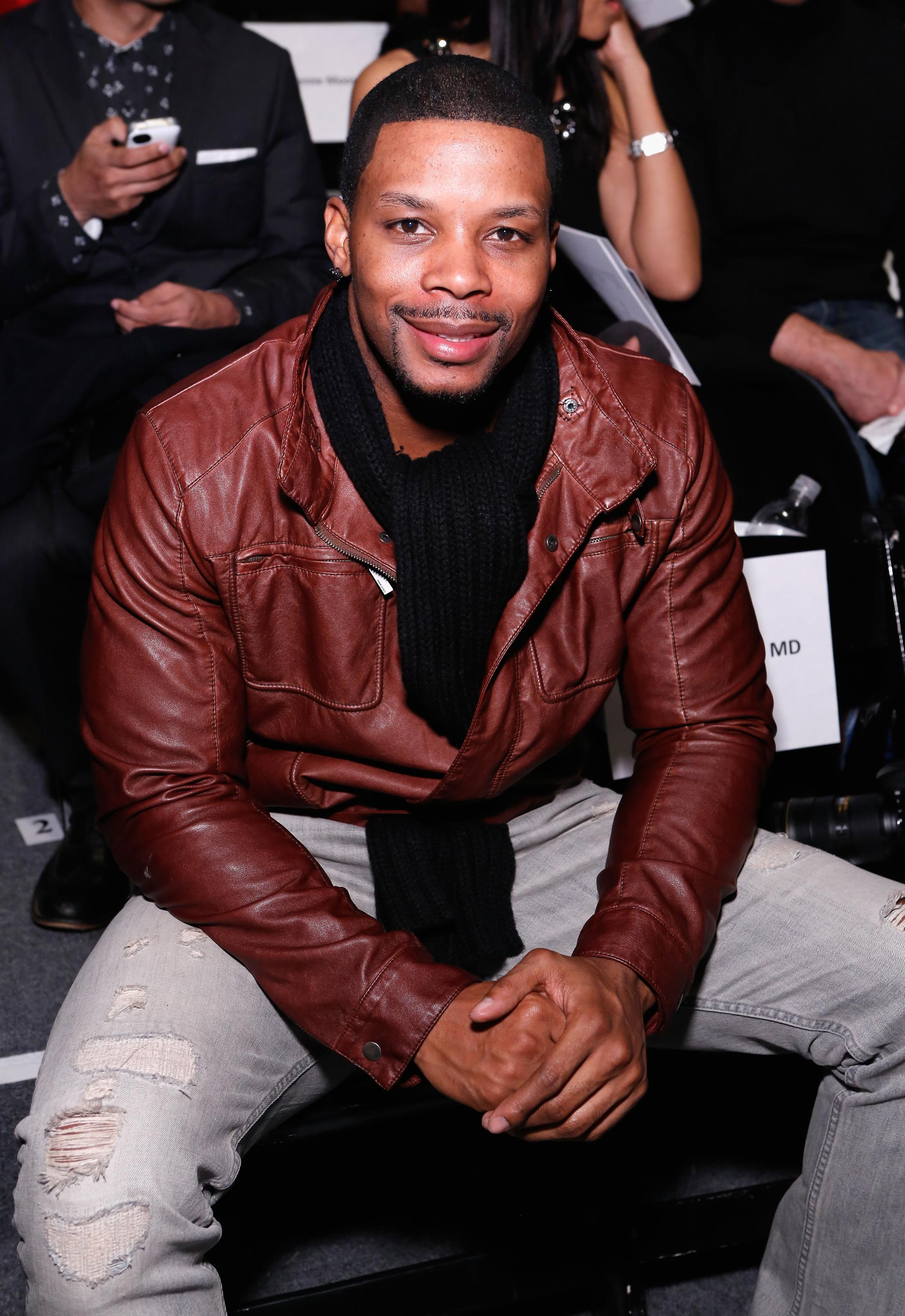 B Michael America - Front Row - Fall 2013 Mercedes-Benz Fashion Week