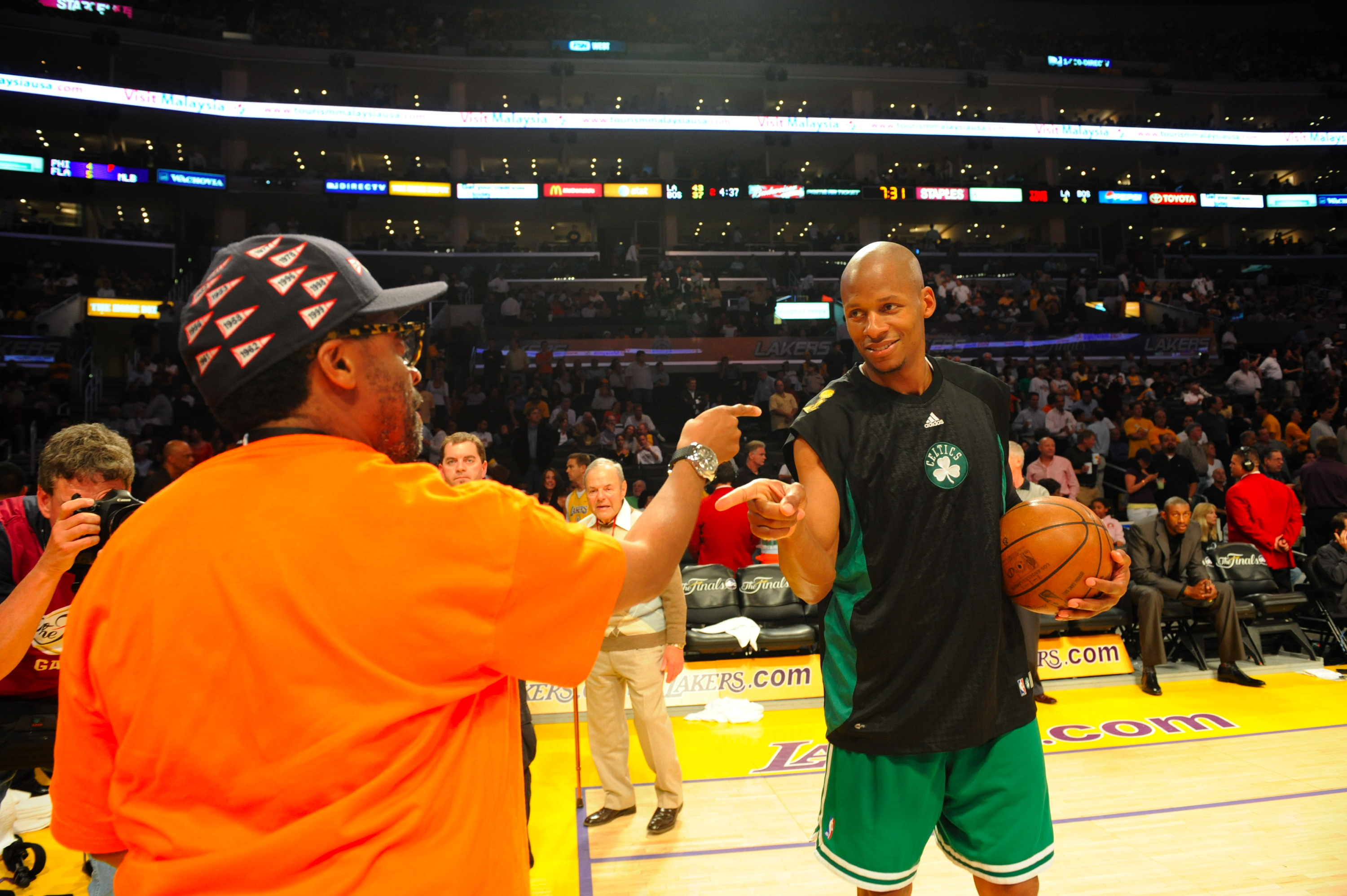 NBA Finals Game 3: Boston Celtics v Los Angeles Lakers