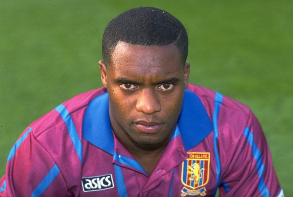 Dalian Atkinson of Aston Villa