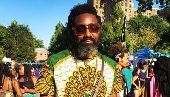 Avery Smith at Afropunk Brooklyn 2016.