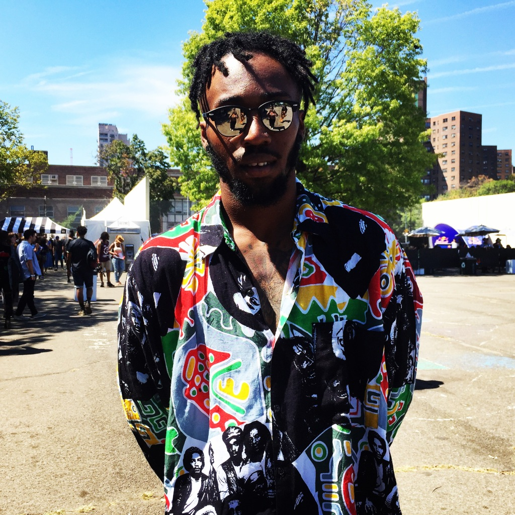 Evron McKay at Afropunk Brooklyn 2016.