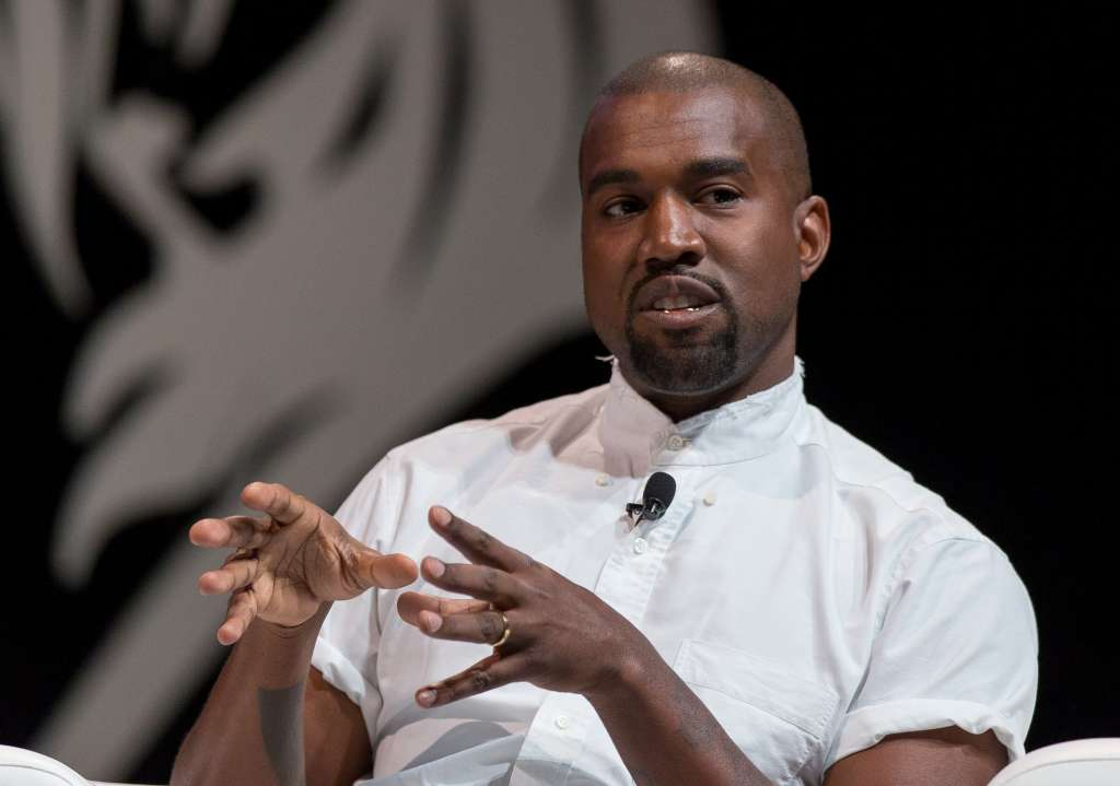 Kanye West At the 2014 Cannes Lions