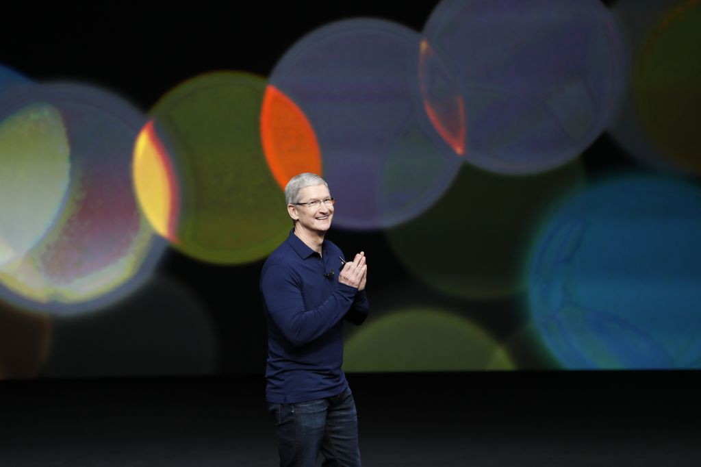 Apple Holds Press Event To Introduce New iPhone