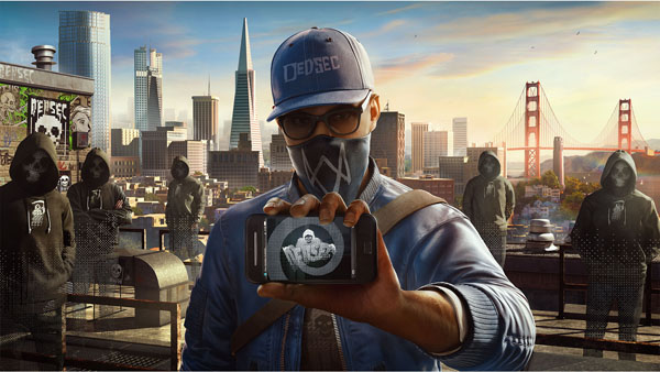 Watch Dogs 2 Marcus Rooftop