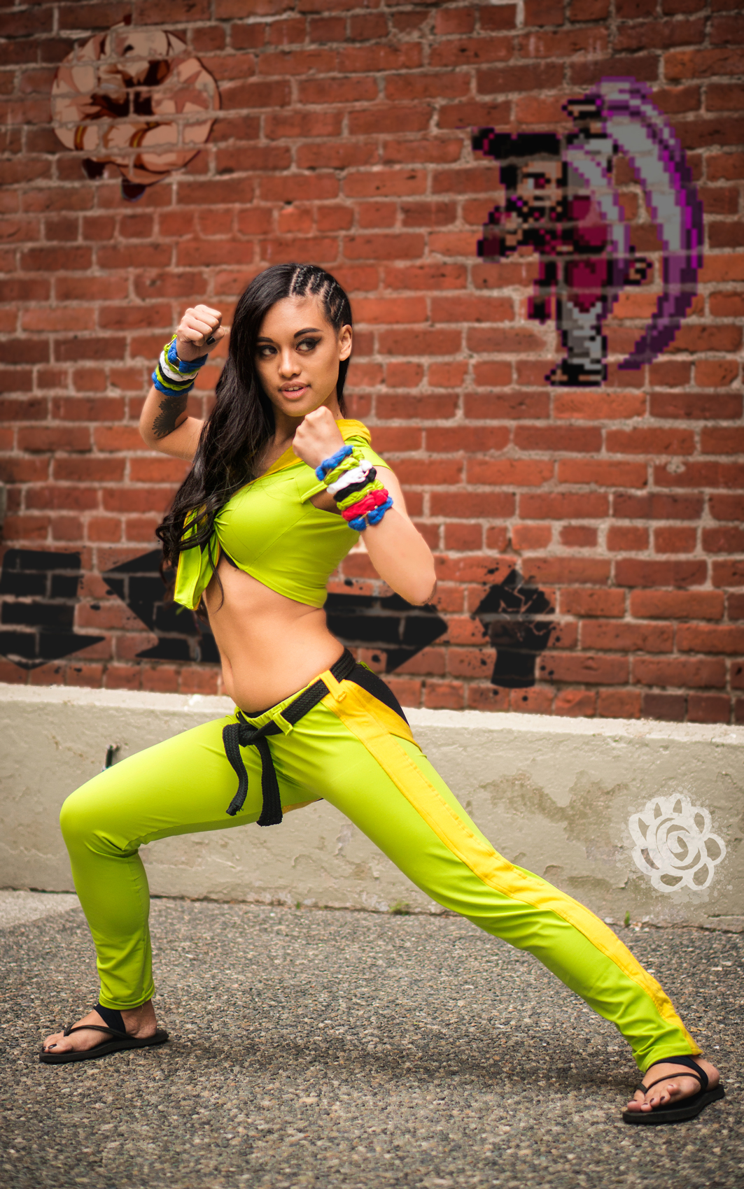 Lunar Crow Laura Street Fighter