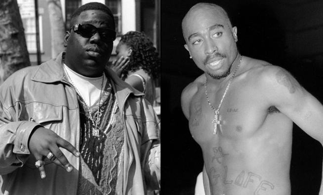 tupac biggie side by side