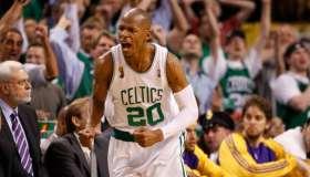 Los Angeles Lakers Vs. Boston Celtics At TD Banknorth Garden