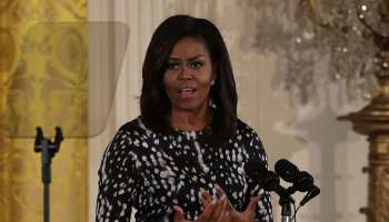 First Lady Michelle Obama Speaks At Event Celebrating 20th Century Art