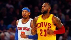 Cleveland Cavaliers v New York Knicks