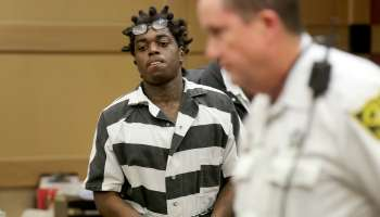 Rapper Kodak Black is ordered held without bond on two warrants