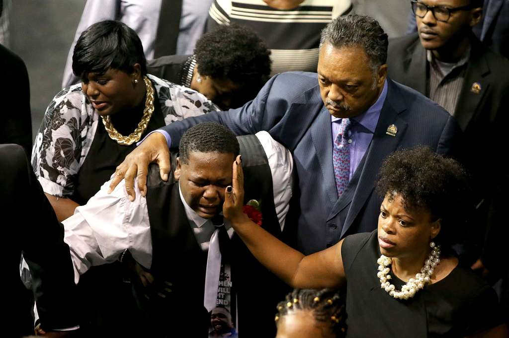 Funeral Held For Baton Rouge Police Shooting Victim Alton Sterling