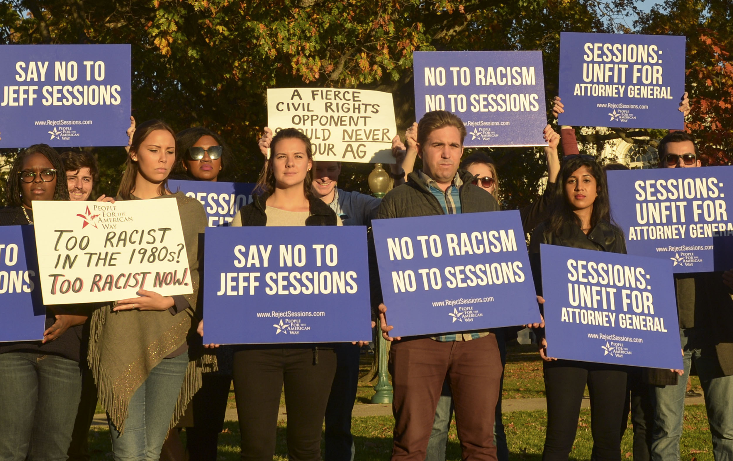 Activists Call On Senate To Reject Jeff Sessions As Attorney General